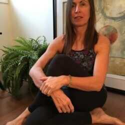 Leanne yoga picture